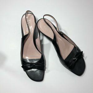 Franco Sarto Open Toe Kitten Heel 8.5